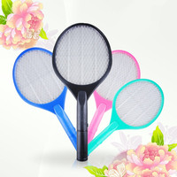 Yiwu city CE&ROHS mosquito racket factory battery mosquito insect zapper