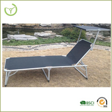 2016 new design sun lounge with canopy/people lounger chair
