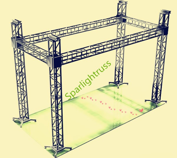 outdoor stage and stage truss