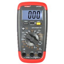 Mini Handheld Digital LCD Mulitimeter Capacitance Measurement DC/AC Voltage DC Current Resistance Meter Diode Continuity Tester