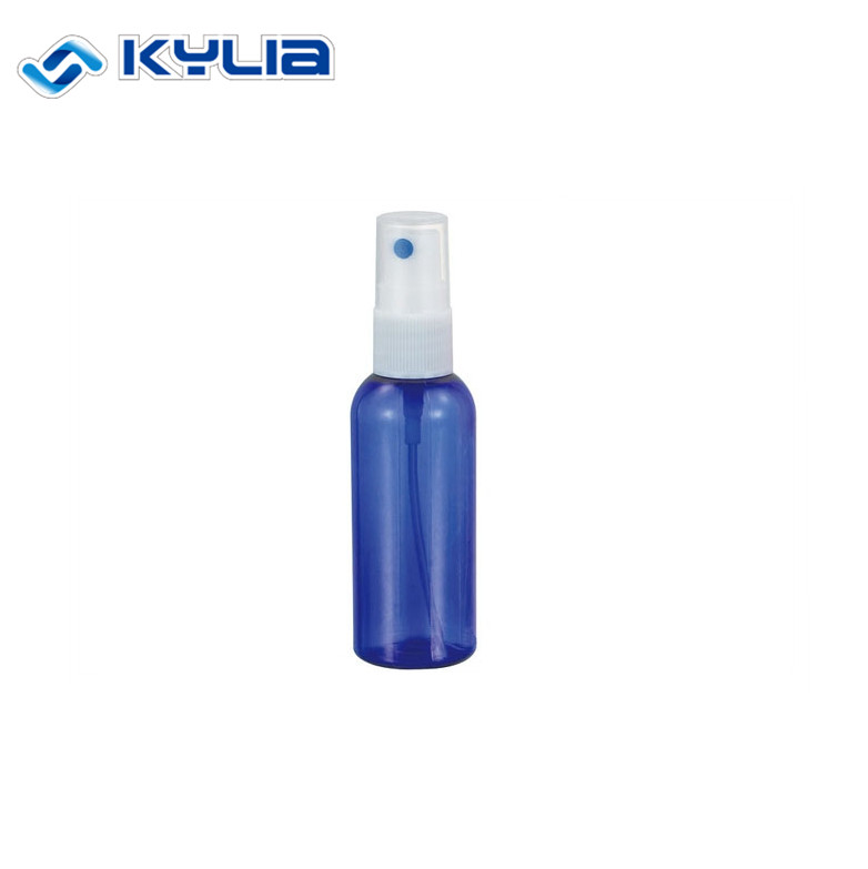 50ML plastic PET pump spray bottles for cosmetic