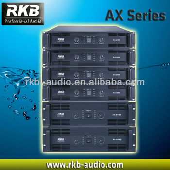 (AX Series)Class AB Professional Amplifier