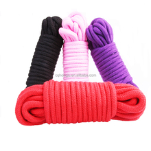 Couple Sex Colorful Firm Tough High Qualified 10 Meter long Binding Restrain Soft Cotton Bondage Rope