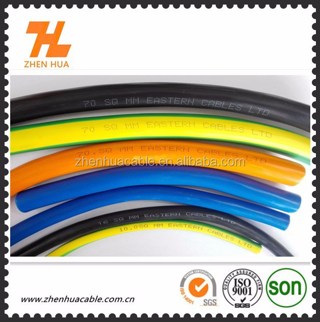 high quality 400AMP 16mm2 25mm2 35mm2 50mm2 70mm2 95mm2 double sheathed welding cable(YC cable)