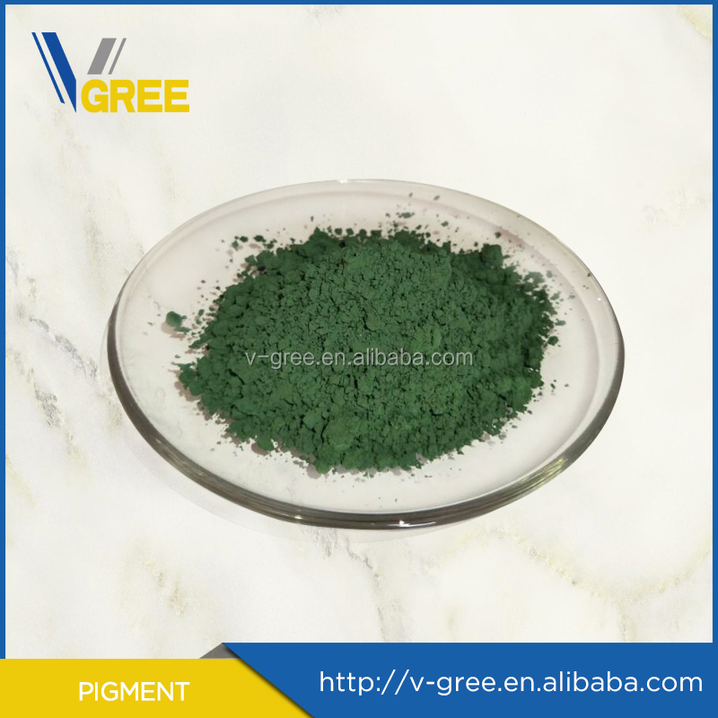 Chinese pigment manufacturer pigment moss green/ceramic color stain/ceramic glaze stains green