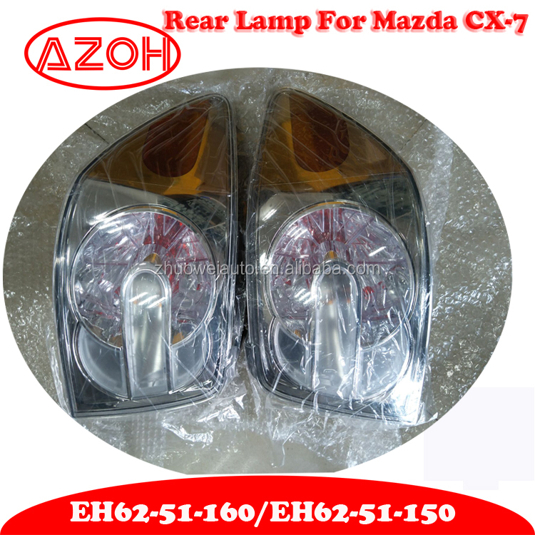 Japan Original Mazda CX7 Auto Lighting System Rear Tail Lamp Light Left EH62-51-160 and Right EH62-51-150