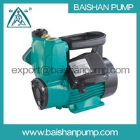 Water heater automatic booster peripheral pump