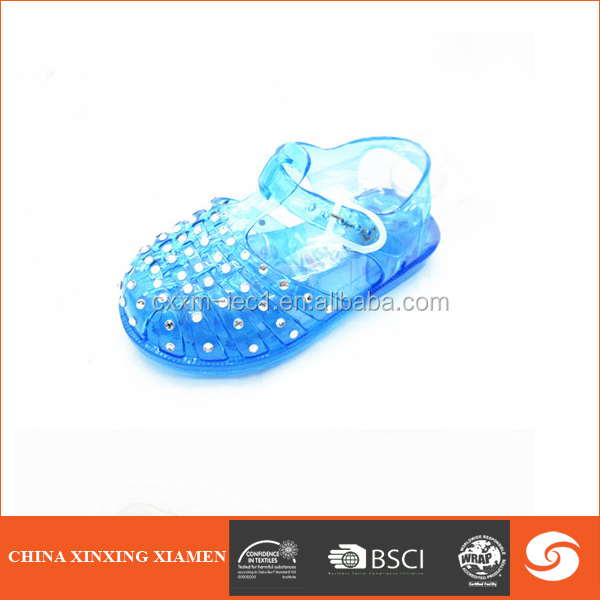 2015 colorful shinny child shoe kids sandal with diamond