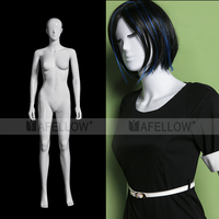 Hot sale Store Display Female Plastic Mannequins With abstract head