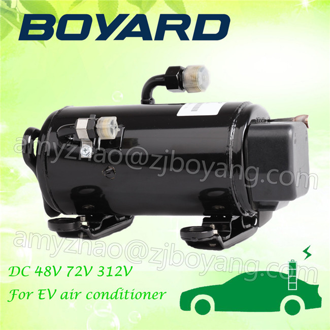 Auto parts <strong>12</strong>/24v electric EV ac <strong>compressor</strong> for cell-driven vehicles air conditioning kit