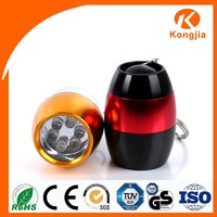 Mini Keychain Factory Price IP65 6 LED Torch Butane Torch Lowes