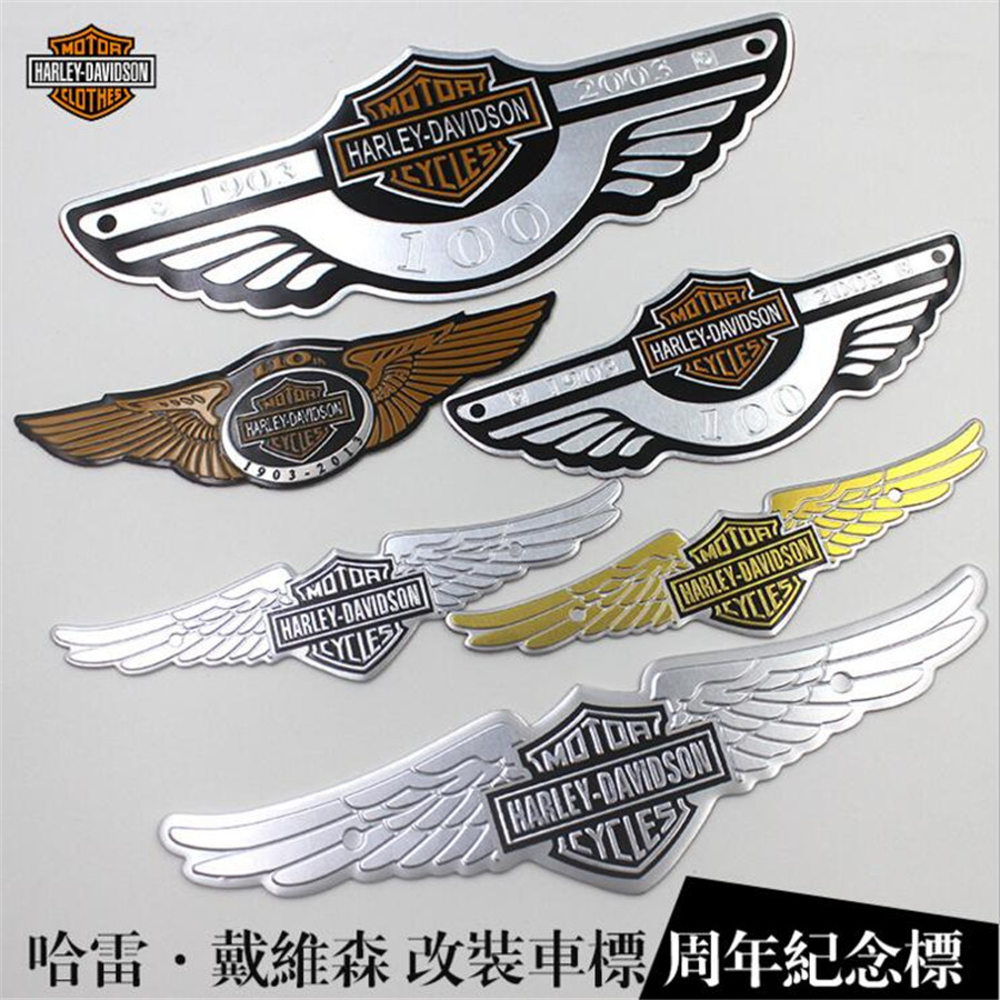 Motorcycle Metal Eagle Logo Styling Lecoration Stickers Auto Emblem Badge Logo Personality Accessories Fashion Car Sticker