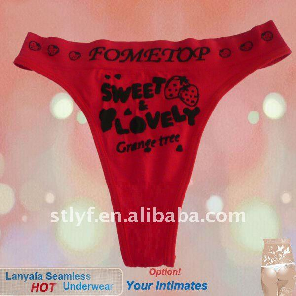 Sexy fashion ladies seemless Tanga briefs g-string thong slips