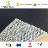 100% Cotton Knitted Denim Jeans Fabric For Sweater
