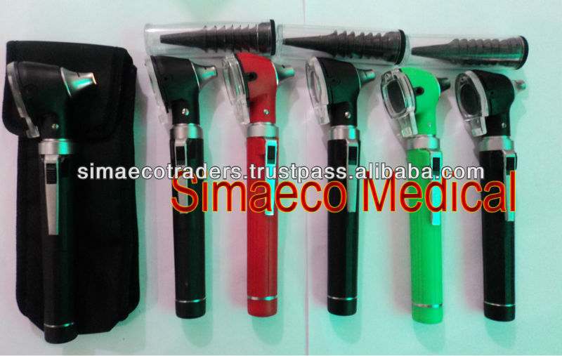 PET Otoscopes With Long Funnels