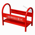 Red color fire extinguisher box/fire hydrant cabinet