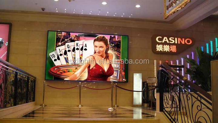 YouTube Video High Definition P5 Indoor LED Multi Color LED Screen Display