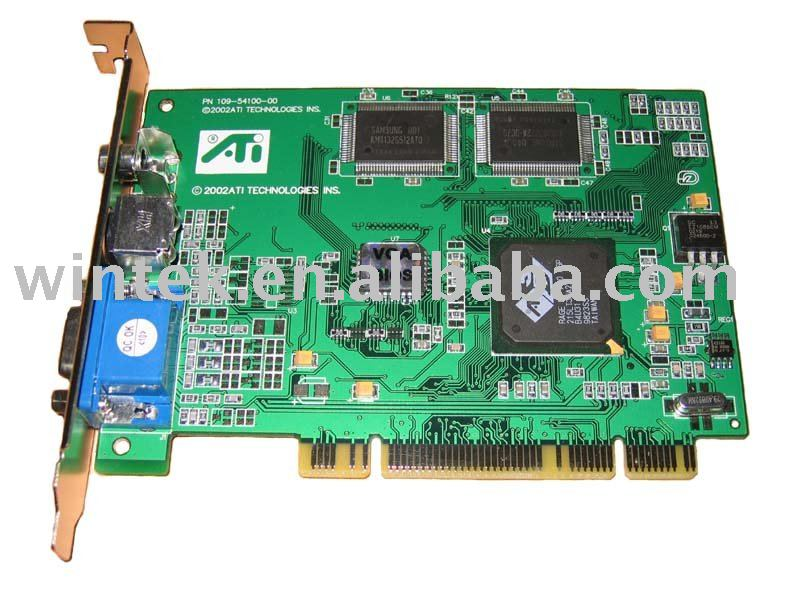 ATI 3D Rage LT PRO video Card With TV out