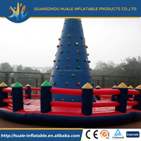 inflatable playground rock climbing wall used commercial equipment for children and adults playing products