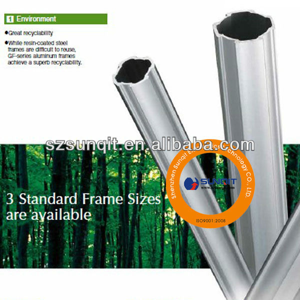 Aluminum alloy pipe/aluminum tube/pipe used for pipe joint system