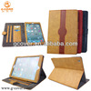Brand new Leather wallet case for iPad air,card holder case for ipad Air