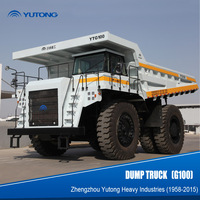 100 ton Mining Dump Truck for ore quarry usage