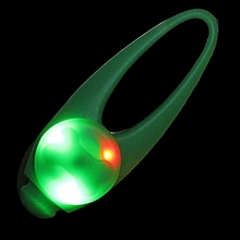 Highvisibility Water-Resistent Spot Lit Clip-on Pet Dog Cat Collar LED Safety Light