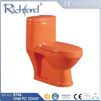 Top selling R746 Bathroom Sanitary Ware Washdown One piece children size toilet