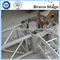 Entertainment portable lightweight stage truss
