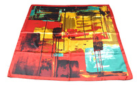 YiWu Toros machines printing 100%polyester stain silk feeling square tudung scarf