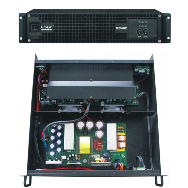 MC402 400 watt power amplifier