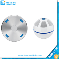 2015 New products magnetic levitating bluetooth speaker with magic for mobile phone