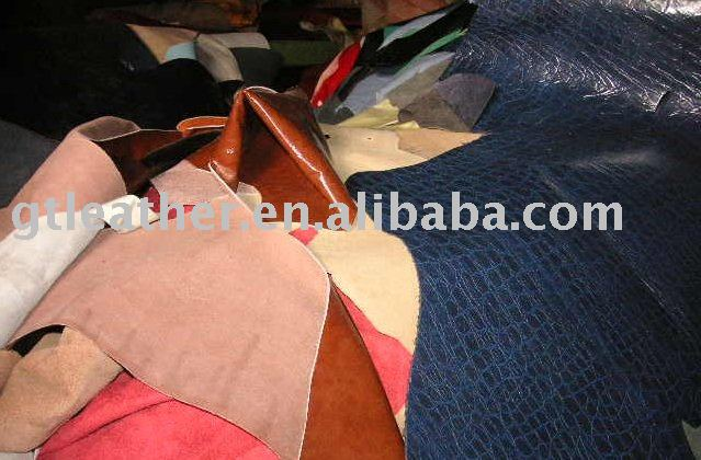 Leather Stocklot - PU Coated Cow Leather
