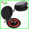 Shockrproof black molded earphone eva case