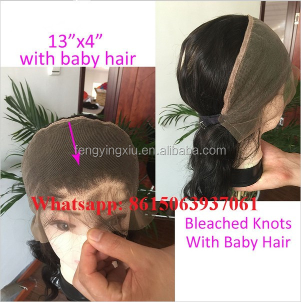100% human hair 360 band lace frontal with natural headline