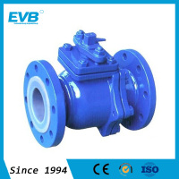 Flanged Manual Operated Rubber Lined Ball Valve