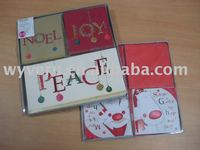 christmas greeting card.We wholesale photo albums/frames,gift boxes and paper bags ,note books, Office stationery.factory price!