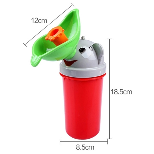 Portable Children Urinal Car Urine Bottle for Girl