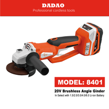 DADAO 8401 20V Brushless Angle Grinder lithium-ion battery power BRAND NEW