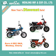 2018 New Year's Discount chinese cheap model 50cc motorcycle sale eec 25km/h and 45km/h gas scooter DAX, Monkey, Charly