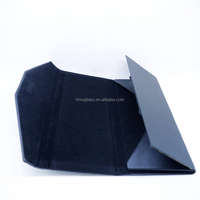 light triangle top protective eyewear retainer case box product of logo