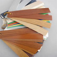 Best selling plastic table edging trim edge banding pvc /ABS for furniture cover
