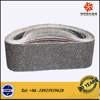 silicon carbide sanding belt for grinding stainless steel and glass