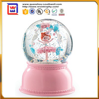 musical snow globe in resin crafts for souvenirs