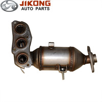 auto Exhaust System three way catalytic converter for geely lc-1 panda