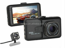 3.0 Inch Screen 1080P Full HD Dual Camera Car DVR Car Dash Cam with Front and Rear Camera