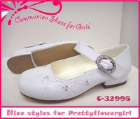 elegant for pretty flower girls communion child shoes