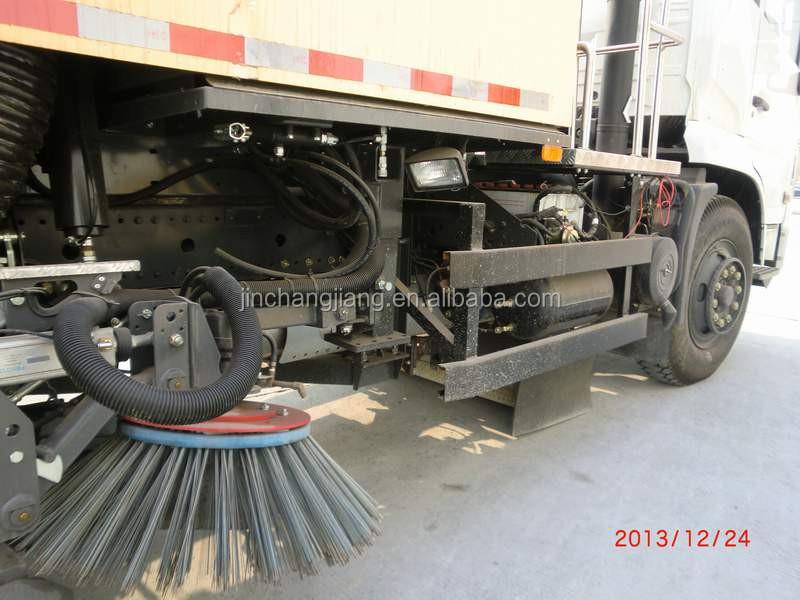 High Performance Dongfeng 16 Ton Vacuum Road sweeper truck