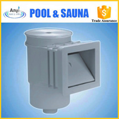 high efficient swimming pool standard wall skimmer for vinyl pool