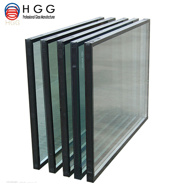Custom made insulated high pressure resistance glass glazing glass&curtain wall